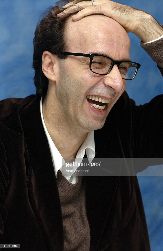"""Pinocchio"" Press Conference with Roberto Benigni and Nicoletta Braschi"