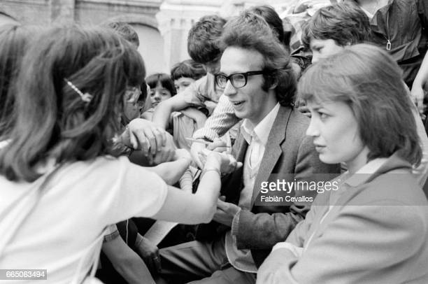 Roberto Benigni and French actress Dominique Laffin star together in the 1979 Italian film Chiedo Asilo The film directed by Marco Ferreri and known...