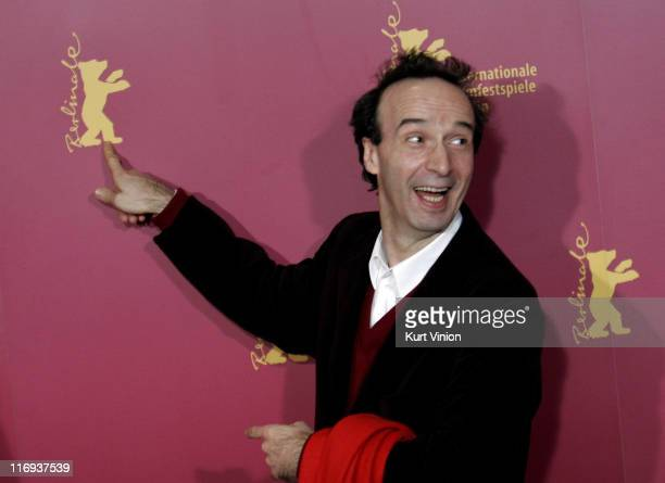 Roberto Benigni Director and Actor during 56th Berlinale International Film Festival The Tiger and the Snow Photocall at Berlinale in Berlin Germany
