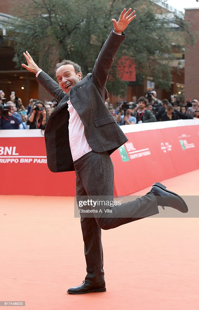 Roberto Benigni Red Carpet - 11th Rome Film Festival