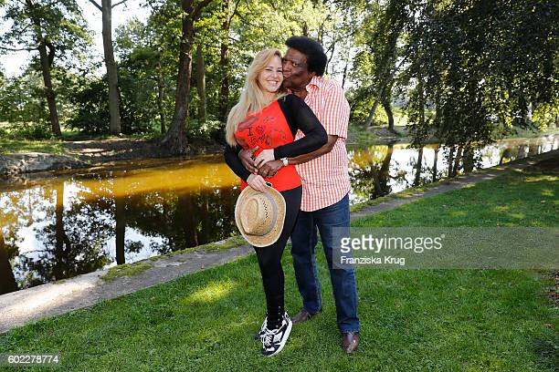 Roberto Blanco and Luzandra Blanco attend the Till Demtroders CharityEvent 'Usedom Cross Country' on September 10 2016 near Heringsdorf in Usedom...