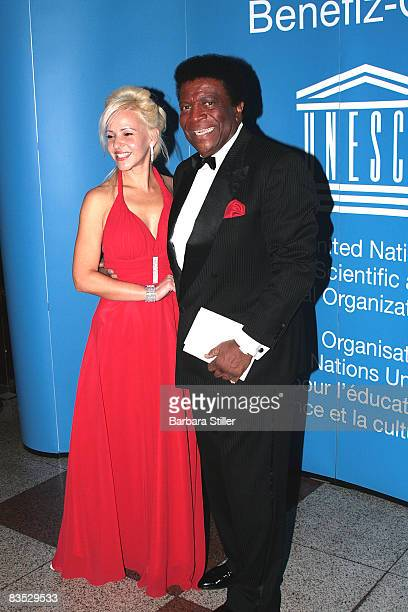 Roberto Blanco and Sandra attend the UNESCO Benefit Gala for Children 2008 at Hotel Maritim on November 1 2008 in Cologne Germany