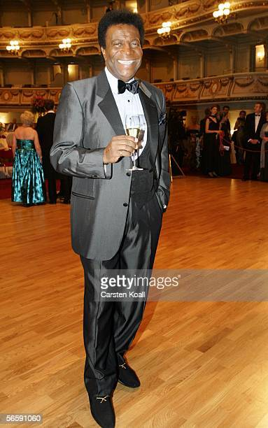 Roberto Blanco attend the first Semper Opera Ball in 64 years on January 13 2006 in Dresden Germany