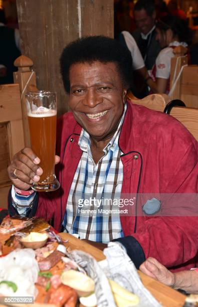 Roberto Blanco attends the Radio Gong 963 Wiesn during the Oktoberfest 2017 on September 20 2017 in Munich Germany