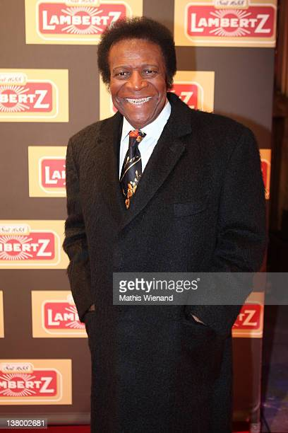 Roberto Blanco attends the red carpet at the 'Lambertz Monday Night' January 30 2012 in Cologne Germany