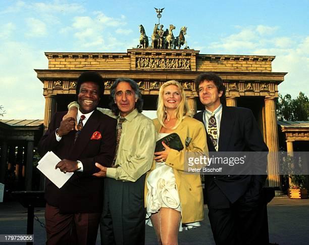 Roberto Blanco Roger Pappini Ehefrau Marlene Charell und Michael Schanze 25 jähriges JubiläumPhantasieland Ehemann