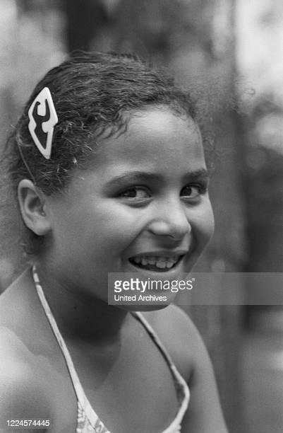 Roberto Blanco's daughter Patricia as a child Germany circa 1978