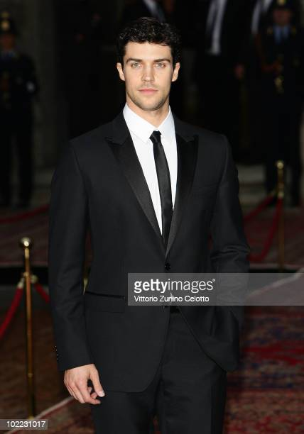 Roberto Bolle attend the Dolce Gabbana '20 Years of Menswear' during Milan Fashion Week Spring/Summer 2011 on June 19 2010 in Milan Italy