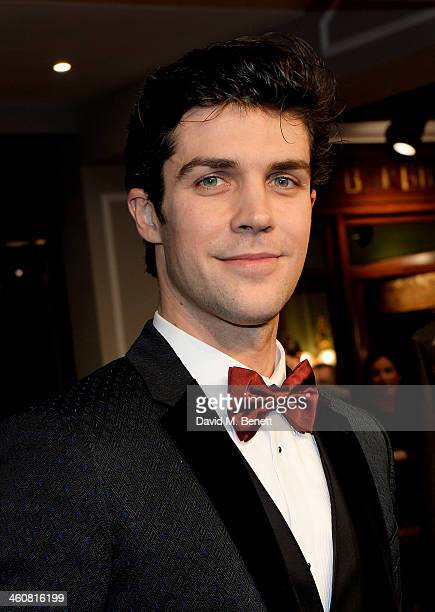 Roberto Bolle attends the Dolce Gabbana London Collections Men event at the Dolce Gabbana New Bond Street store on January 5 2014 in London England
