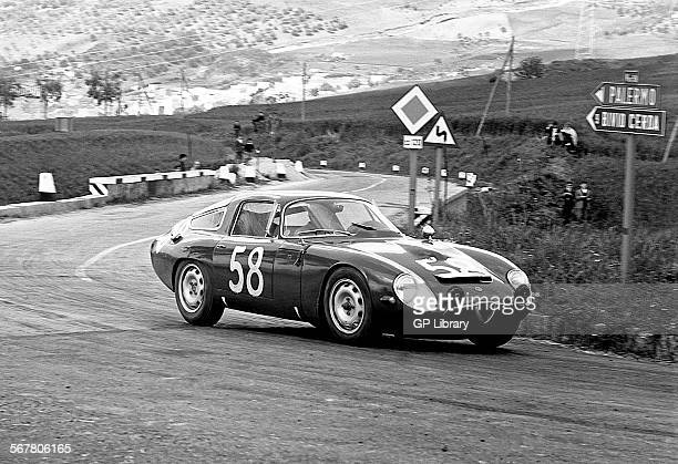 Roberto BussinelloNino Todaro's Alfa Romeo Giulia TZ Scuderia Sant Ambroeus Targa Florio Sicily 26 April 1964