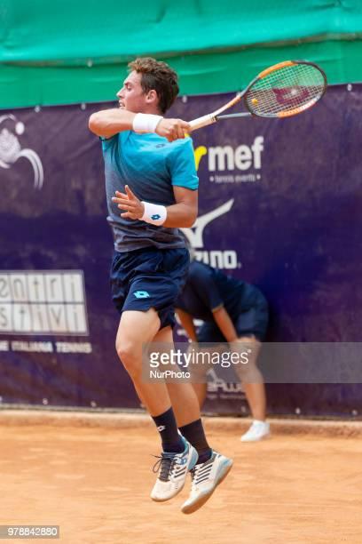 Roberto Carballes Baena during match between Roberto Carballes Baena and Giovanni Fonio during day 4 at the Internazionali di Tennis Città...