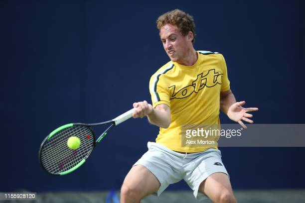 Roberto Carballes of Spain during a practice session prior to the FeverTree Championships at Queens Club on June 14 2019 in London United Kingdom