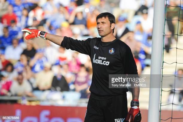 Roberto Carlos 'Pato' Abbondanzieri Getafe goalkeeper