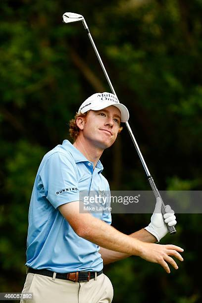 Roberto Castro hits off the third tee during the second round of the Valspar Championship at Innisbrook Resort Copperhead Course on March 13 2015 in...