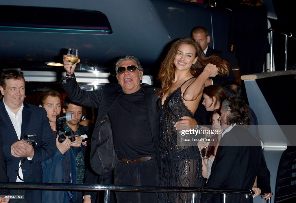 Roberto Cavalli Hosts Annual Party Aboard His Yacht: Arrivals - The 67th Annual Cannes Film Festival