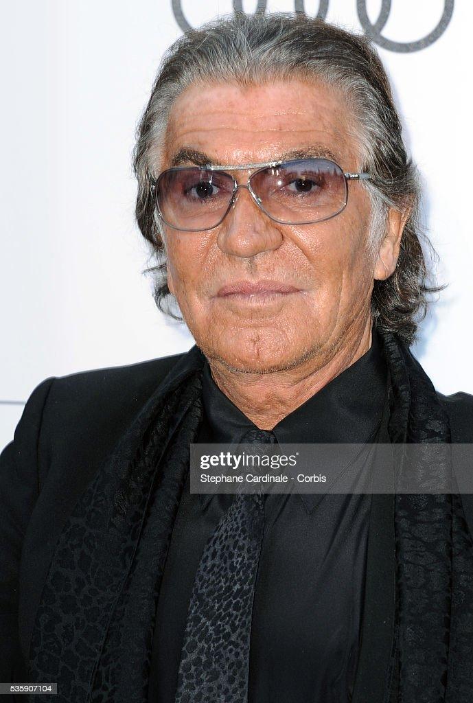 Roberto Cavalli attends the '2010 amfAR's Cinema Against AIDS' Gala.