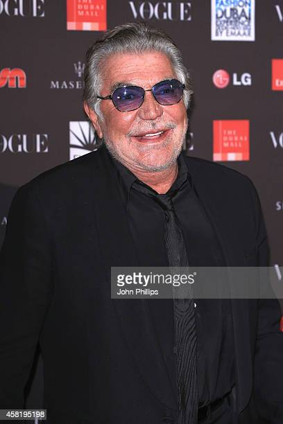 Roberto Cavalli attends the Gala Event during the Vogue Fashion Dubai Experience on October 31 2014 in Dubai United Arab Emirates