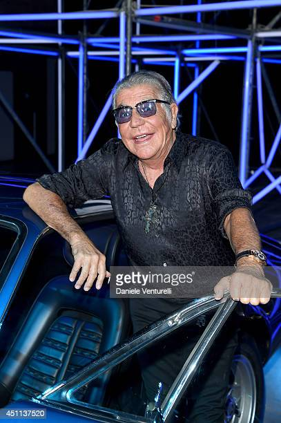Roberto Cavalli attends the Roberto Cavalli show during the Milan Menswear Fashion Week Spring Summer 2015 on June 24, 2014 in Milan, Italy.