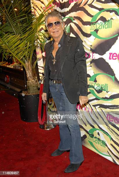 Roberto Cavalli during Just Cavalli and Teen Vogue Host Fashion Fete To Celebrate Summer May 3 2006 at The Manor in New York City New York United...