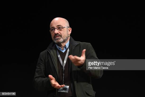 Roberto Cingolani scientific director of the Italian Institute of Technology attends the launch of Corriere Innovazione at the Unicredit Pavilion on...