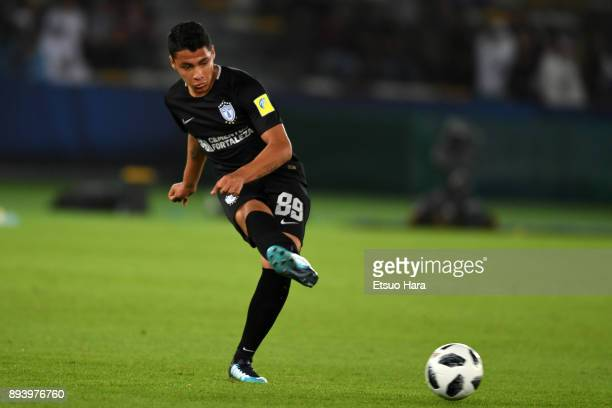 Roberto De La Rosa of Pachuca in action during the FIFA Club World Cup UAE 2017 third place play off match between Al Jazira and CF Pachuca at the...