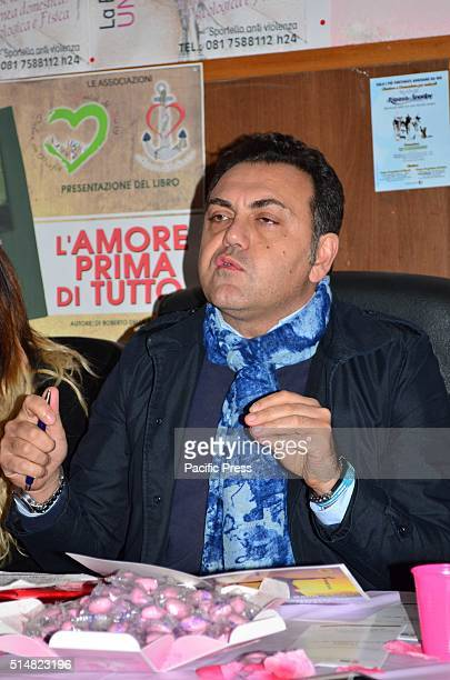 Roberto della Ragione at a conference with the theme To smile again violence against women is not just a crime story is organized by the Association...