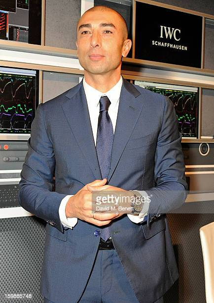 Roberto Di Matteo attends the IWC Schaffhausen Race Night event during the Salon International de la Haute Horlogerie 2013 at Palexpo on January 22...