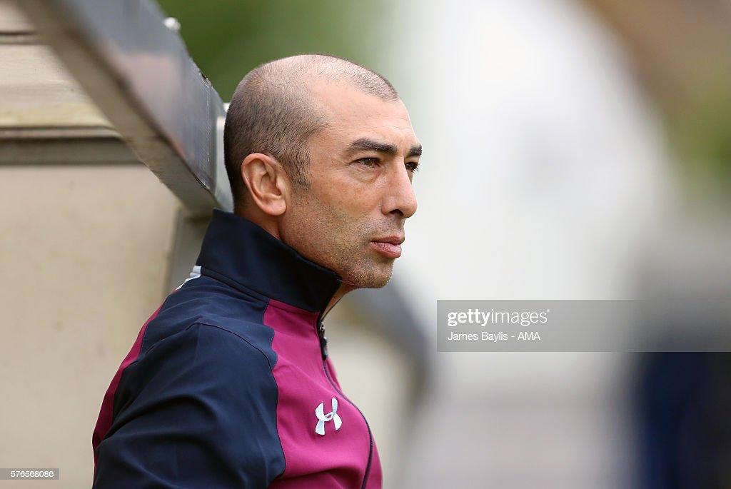 AFC Telford v Aston Villa: Pre-Season Friendly : News Photo