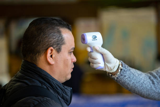 NY: New York City's MTA Takes Temperatures Of Its Workers To Ensure Safety Amid Coronavirus Pandemic