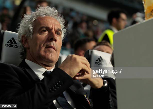 Roberto Donadoni during serie A match between Juventus v Bologna in Turin on May 5 2018