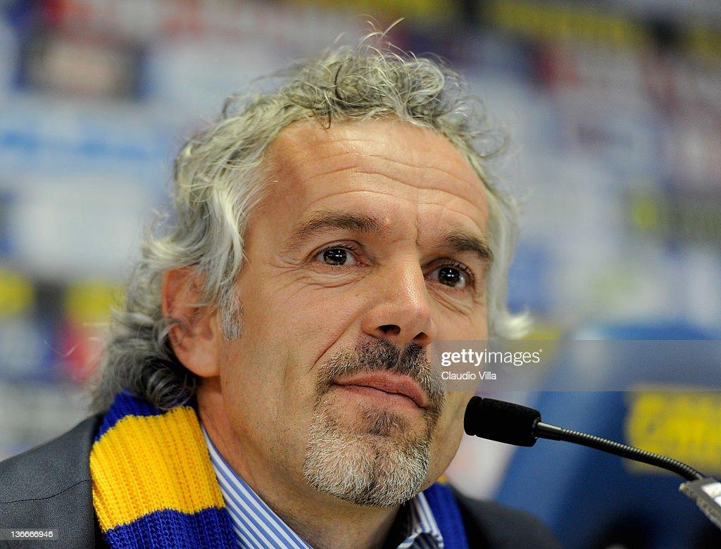 Parma FC Unveils New Coach Roberto Donadoni