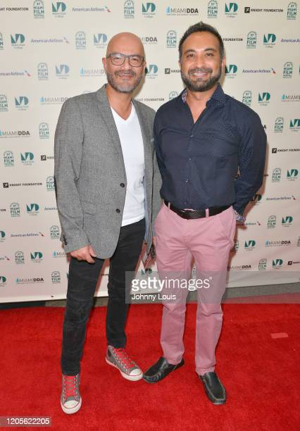 Roberto Donoso and Prashant Thakker short film 'Woman Under the Tree' are seen during 37th Annual Miami Film Festival presented by Miami Dade College...