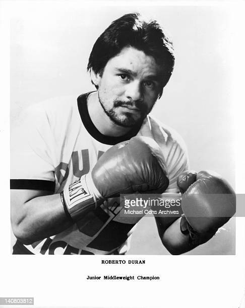 Roberto Duran Junior Middleweight Champion 1983