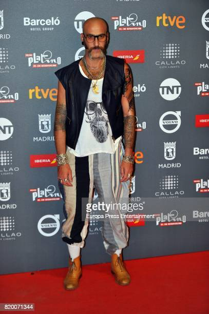 Roberto Etxeberria attends the Platino Awards 2017 welcome Party on July 20 2017 in Madrid Spain