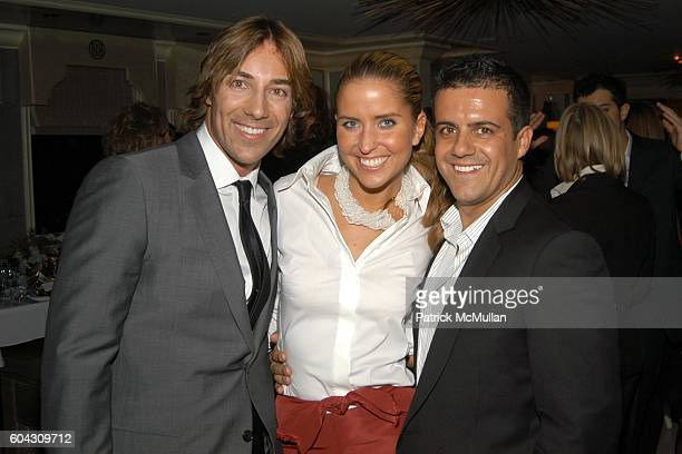 Roberto Faraone Mennella Brooke Evans and Amedeo Scognamiglio attend BERGDORF GOODMAN and The Italian Trade Commission host a dinner with the Young...