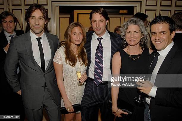 Roberto Faraone Mennella Charlie Cohen Lorenzo Borghese Tracy Cruise and Amadeo Scognamiglio attend FARAONE MENNELLA 5th Year Anniversary Party at...