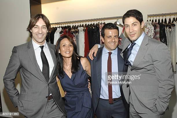 Roberto Faraone Mennella guest Amedeo Scognamiglio and guest attend CAROLINA HERRERA New York Preview Of The Jewelry Collection Designed for Carolina...