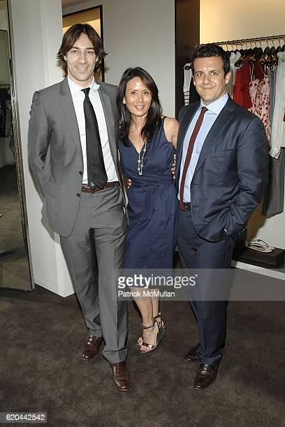 Roberto Faraone Mennella guest and Amedeo Scognamiglio attend CAROLINA HERRERA New York Preview Of The Jewelry Collection Designed for Carolina...