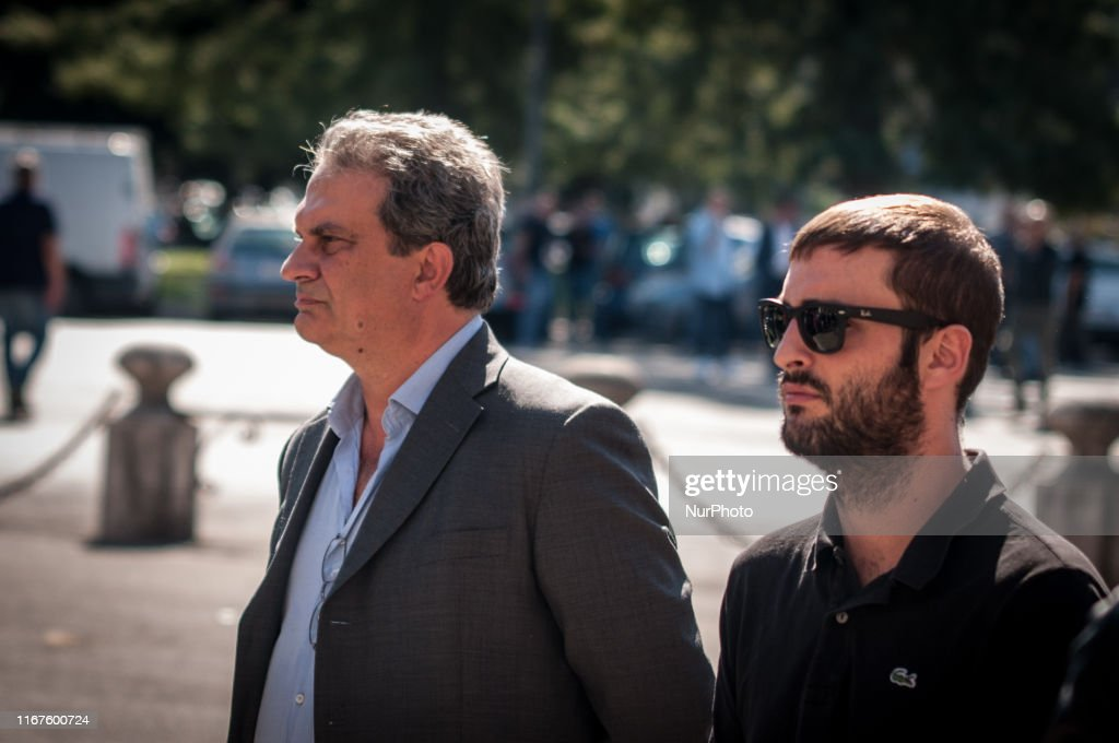 Stefano Delle Chiaie Funeral : News Photo