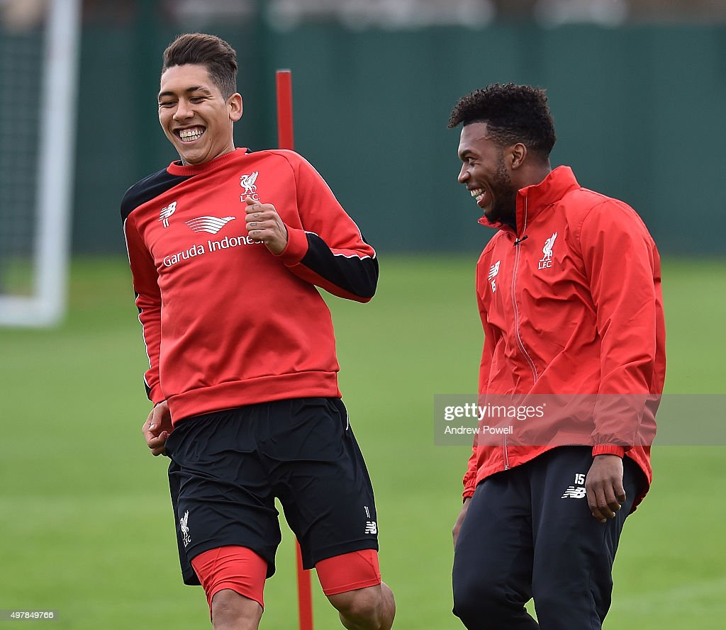 Liverpool FC Training & Press Conference : News Photo