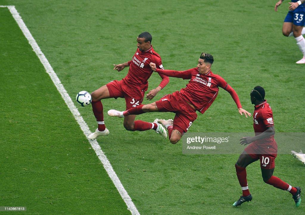 Liverpool FC v Chelsea FC - Premier League : News Photo