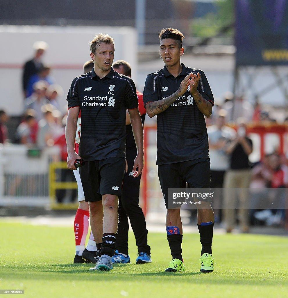 Swindon Town FC v Liverpool FC - Preseason Friendly : News Photo