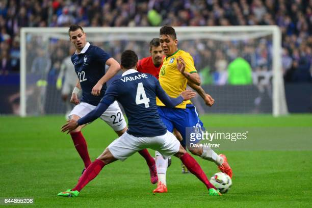 Roberto FIRMINO / Blaise MATUIDI France / Bresil Match Amical Photo Dave Winter / Icon Sport
