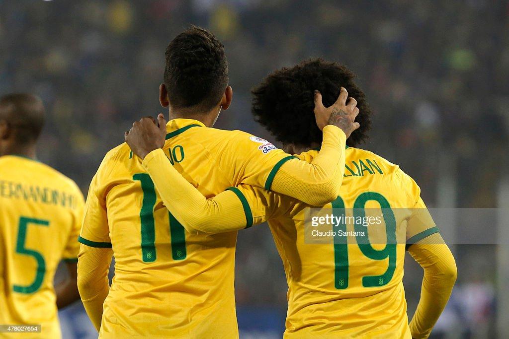 Brazil v Venezuela: Group C - 2015 Copa America Chile : News Photo