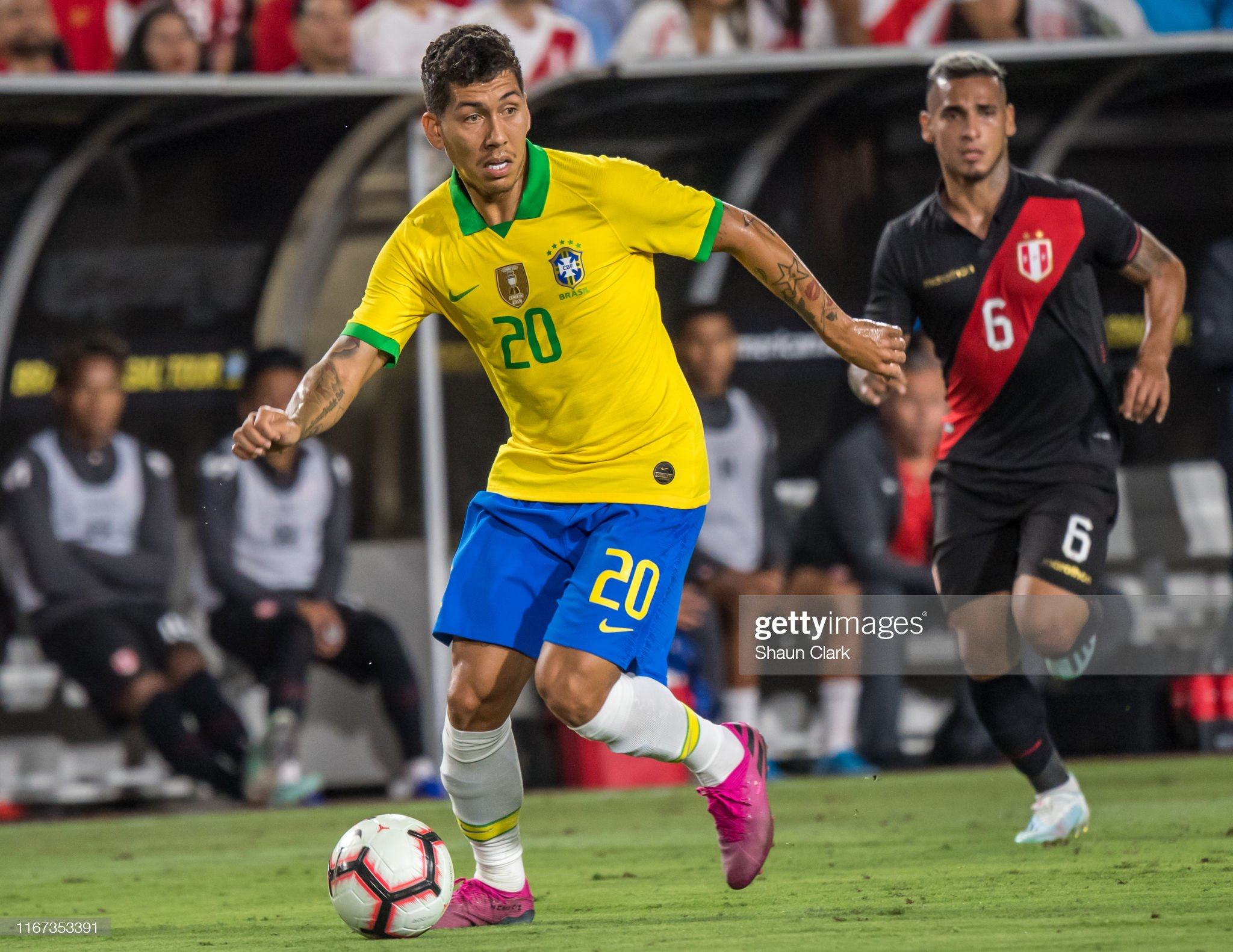 Brazil v Peru - 2019 International Champions Cup : News Photo