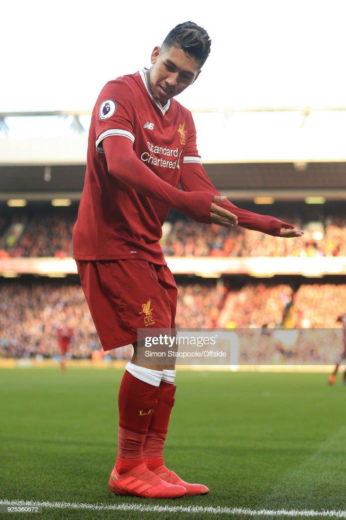 Liverpool v West Ham United - Premier League : Nachrichtenfoto