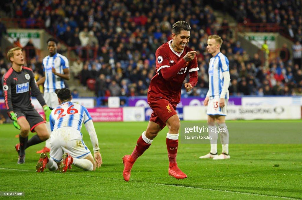 Huddersfield Town v Liverpool - Premier League : Fotografía de noticias