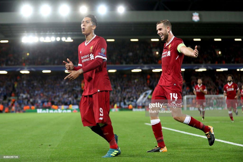 Liverpool FC v 1899 Hoffenheim - UEFA Champions League Qualifying Play-Offs Round: Second Leg : News Photo