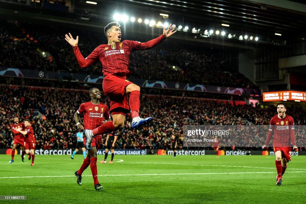 Liverpool FC v Atletico Madrid - UEFA Champions League Round of 16: Second Leg : ニュース写真
