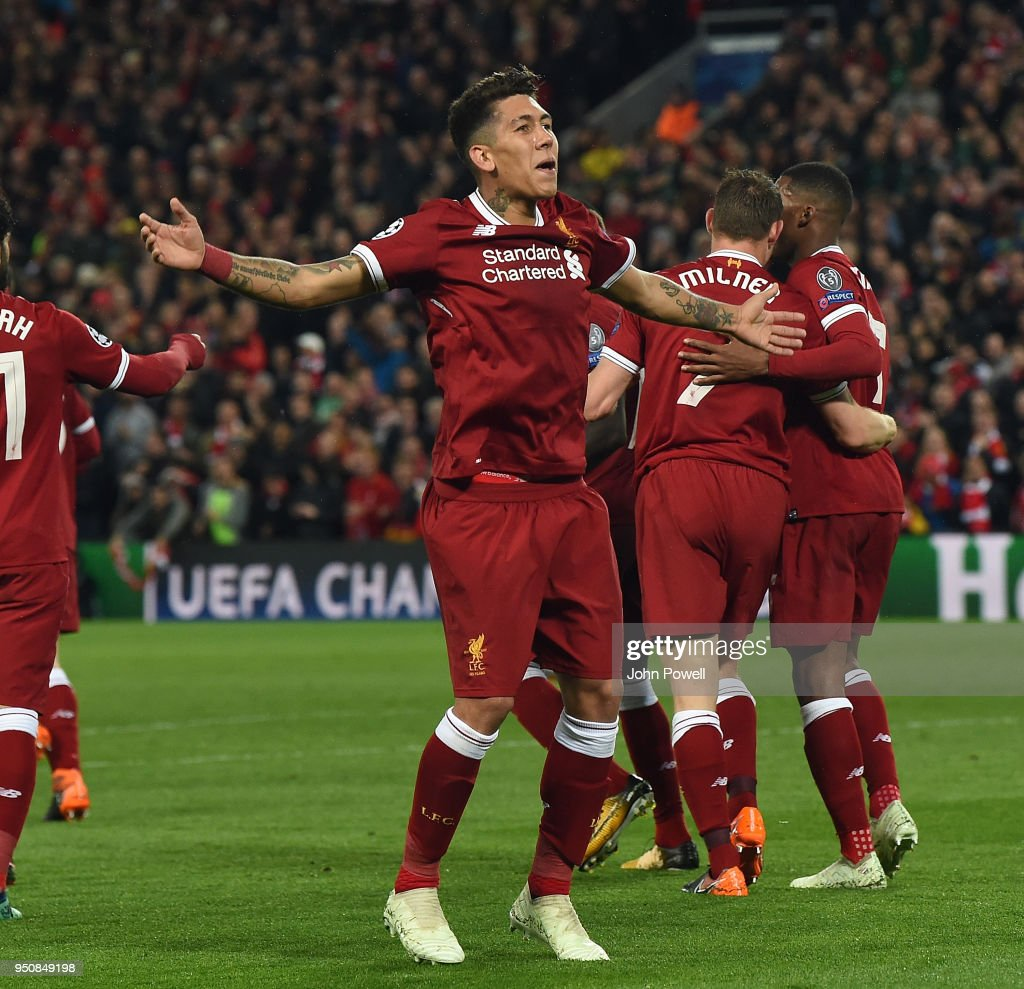 Liverpool v A.S. Roma - UEFA Champions League Semi Final Leg One : Nachrichtenfoto